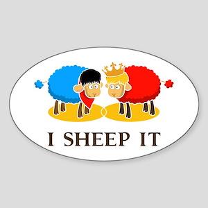 I Sheep It Sticker