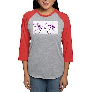 Fag Hag Womens Baseball Tee