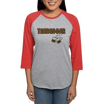 Teabagger Womens Baseball Tee