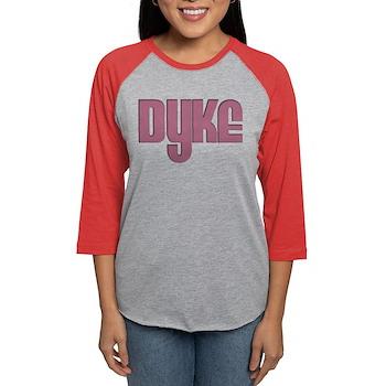 Pink Dyke Womens Baseball Tee