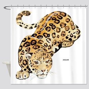 Jaguar Big Cat Shower Curtain