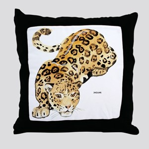 Jaguar Big Cat Throw Pillow
