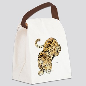 Jaguar Big Cat Canvas Lunch Bag