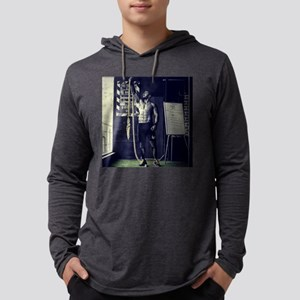 work out Mens Hooded Shirt