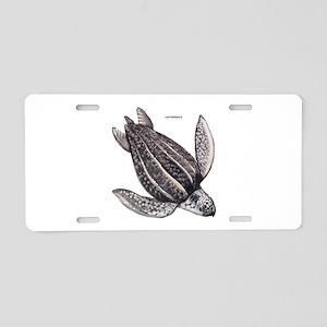 Leatherback Turtle Aluminum License Plate