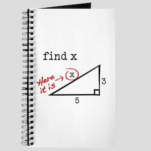 find x Journal