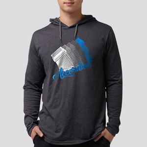 Accordion Shirt Mens Hooded Shirt