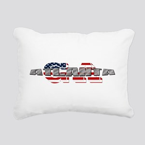 Atlanta GA Rectangular Canvas Pillow