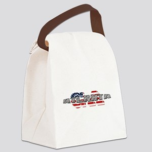 Atlanta GA Canvas Lunch Bag
