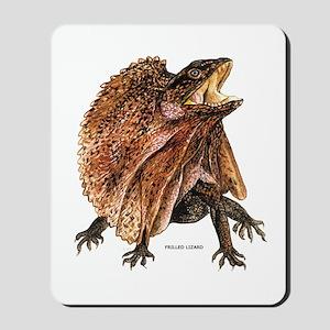 Frilled Lizard Mousepad