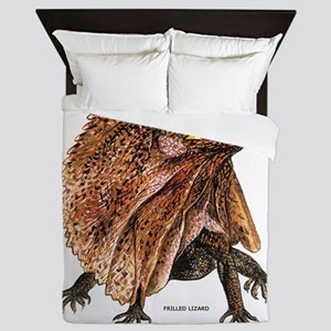Frilled Lizard Queen Duvet
