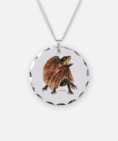 Frilled Lizard Necklace