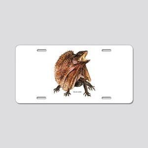 Frilled Lizard Aluminum License Plate