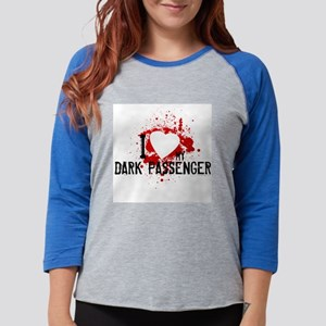 I Heart My Dark Passenger Womens Baseball Tee