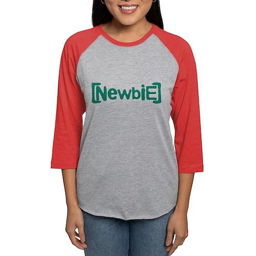 Newbie Womens Baseball Tee