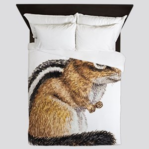 Chipmunk Animal Queen Duvet