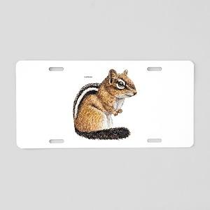 Chipmunk Animal Aluminum License Plate