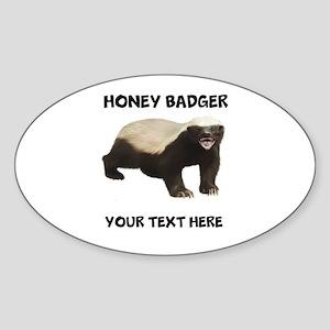 Custom Honey Badger Sticker