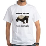 Honey badger personalize basic Mens Classic White T-Shirts