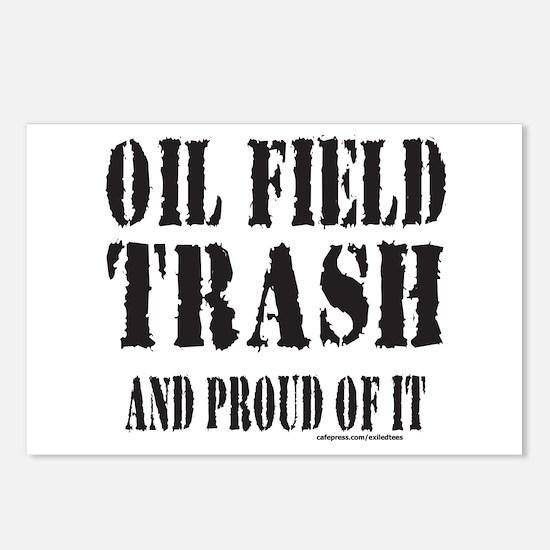 OIL FIELD TRASH Postcards (Package of 8)