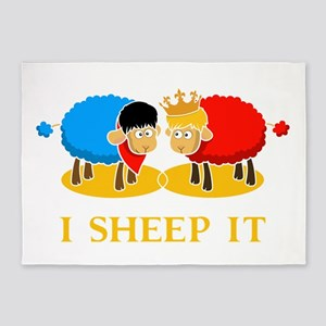 I Sheep It 5'x7'Area Rug