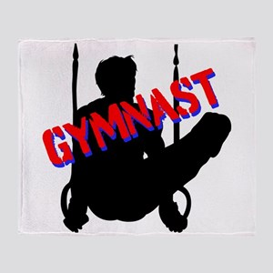 GYMNAST CHAMP Throw Blanket
