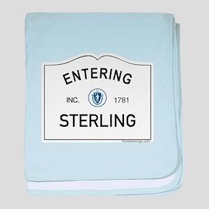 Sterling baby blanket