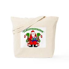 Claustrophobia Tote Bag Christmas Santa Clause