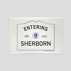 Sherborn Rectangle Magnet