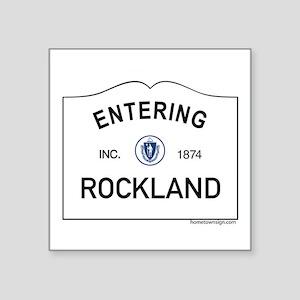 """Rockland Square Sticker 3"""" x 3"""""""