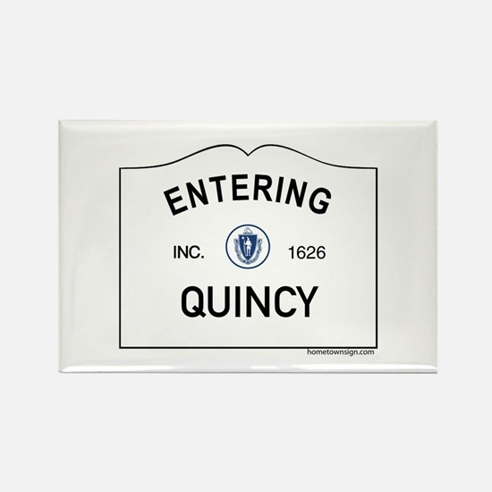 Quincy Rectangle Magnet