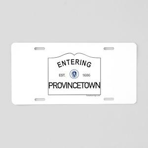 Provincetown Aluminum License Plate