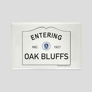 Oak Bluffs Rectangle Magnet