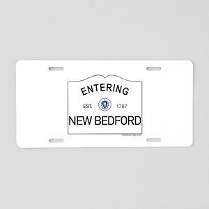 New Bedford Aluminum License Plate