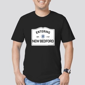 New Bedford Men's Fitted T-Shirt (dark)