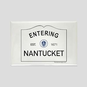 Nantucket Rectangle Magnet