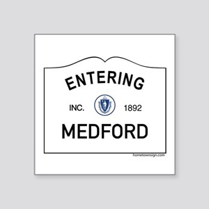 "Medford Square Sticker 3"" x 3"""