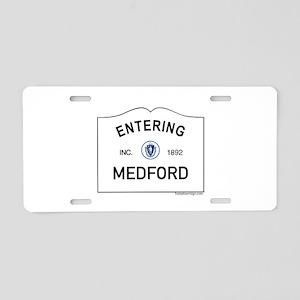 Medford Aluminum License Plate