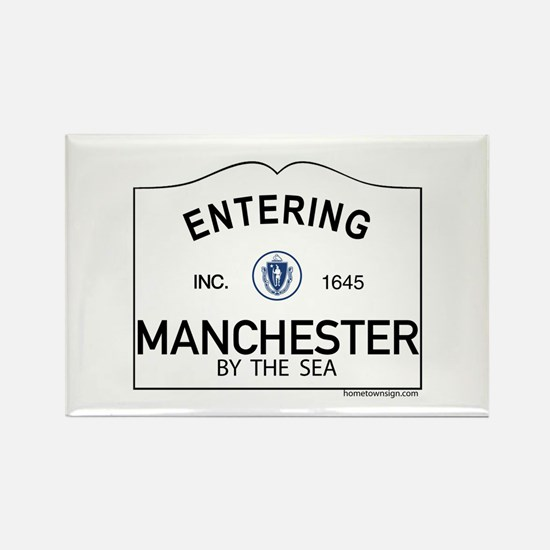 Manchester by the Sea Rectangle Magnet