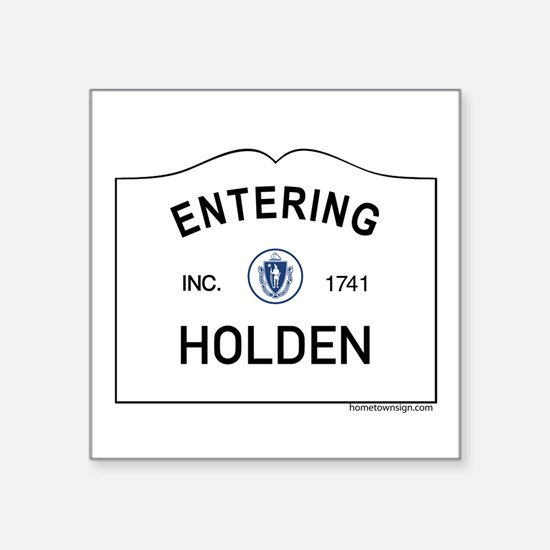 "Holden Square Sticker 3"" x 3"""