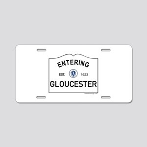 Gloucester Aluminum License Plate