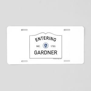 Gardner Aluminum License Plate