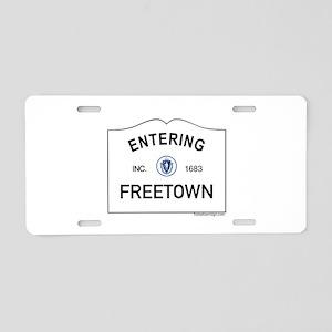 Freetown Aluminum License Plate