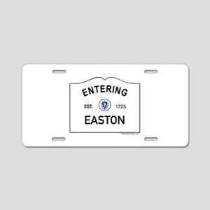 Easton Aluminum License Plate