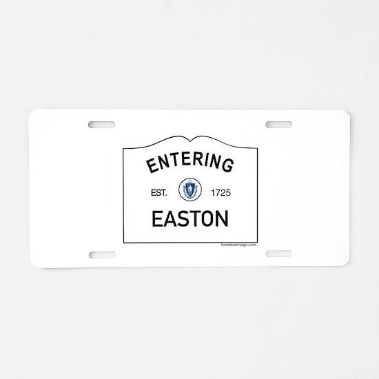 Easton Aluminum License Plate