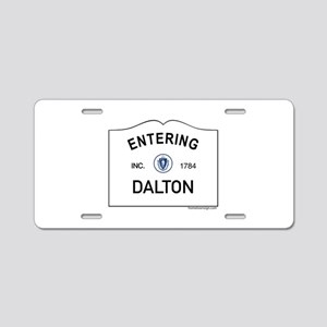 Dalton Aluminum License Plate