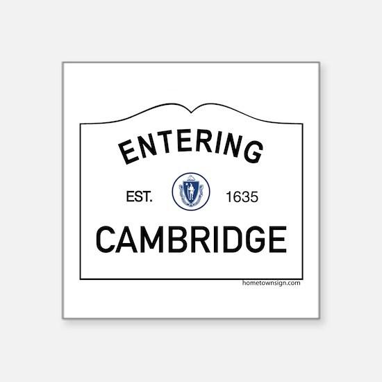 """Cambridge Square Sticker 3"""" x 3"""""""