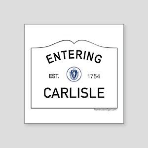 "Carlisle Square Sticker 3"" x 3"""