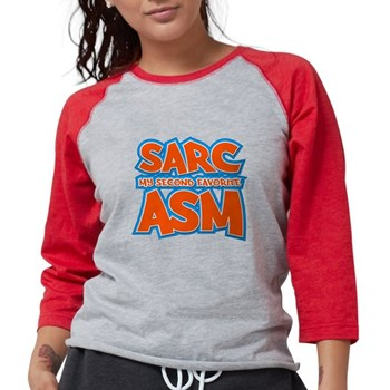 Sarc, My Second Favorite Asm Womens Baseball Tee