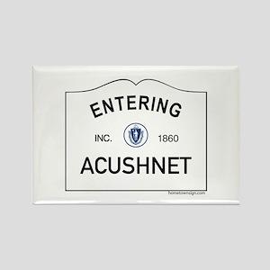 Acushnet Rectangle Magnet